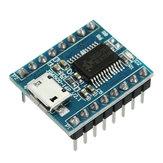 5szt.JQ6500Modułdźwiękugłosowego USB Wymień One na 5-drożny MP3 Voice Standard 16M