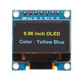 Display OLED de 7Pin 0,96 polegadas 12864 SSD1306 SPI IIC Serial LCD Módulo de tela Geekcreit para Arduino - produtos que funcionam com placas Arduino oficiais