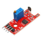 KY-024 4pin Linear Magnetic Switches Speed Counting Hall Sensor Module