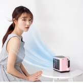 Portable Negative Ion Air Conditioning Fan Humidifier and Purifier Water Cooling Fan USB Charging Desktop Cooling Fan With Night Light
