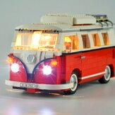 DIY LED Light Lighting Satz für Lego 10220 Volkswagen T1 Wohnmobile Van Bricks YH