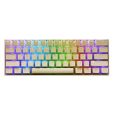 108 Tombol White Pudding Keycap Set OEM Keycap PBT Translucent Keycaps untuk Mechanical Keyboard