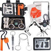 Buitensporten SOS Emergency Survival Equipment Kit Set Tactical Hunting Tool voor Outdoor Camping Adventure