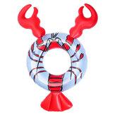 Protezione gonfiabile Strumenti di nuoto di nuoto del cerchio galleggiante della piscina dell'anello di nuotata dei gamberi