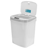 15L Automatic Touchless Sensor Trash Can 3 Open Modes Waste Bin Garbage Bin for Home Bathroom Kitchen