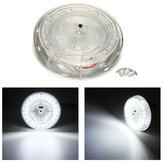 24LED Biały LED sufitowy sufit Wnętrze lampka do czytania Przyczepa samochodowa RV 12V Pojazd