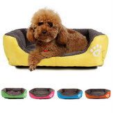 M Size Dog Cat Pet Puppy Kennels Beds Mat Houses Doghouse Warm Soft Pad Blanket