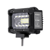 3.5 بوصة 72W LED العمل ضوء Bar Side Shooter Flood Spot Combo Beam for Jeep Offroad ATV SUV