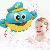 Musik Bubble Machine Maker Bad Octopus Spielzeug für Kleinkinder Baby Happy Happy Tub Time Shower Games