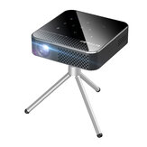 Original              Blitzwolf® BW-VT1 DLP Mini WIFI Projector with Tripod Android 9.0 2+16GB Battery Capacity Wirelees Phone Mirroring Support 1080P Resolution ±40° Keystone Correction Smart Home Theater Projector With Remote