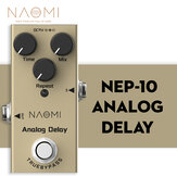 NAOMI Guitar Effect Pedal DC 9V Adapter #NEP-10 Acoustic/ Electric Guitar Effect Pedal Use