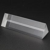 Оптическое стекло UK Triple Prism для обучения физическому спектру света. Модель эксперимента / домашний декор