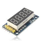 5 Stück 42x24x12mm 4 Bit Digital Tube LED Anzeigemodulplatine Geekcreit für Arduino - Produkte, die mit offiziellen Arduino-Platinen kompatibel sind