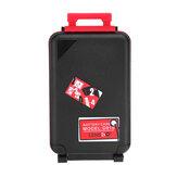 LENSGO D910 Storage Scatola Custodia per scheda di memoria SD CF XQD fotografica Batteria AA Batteria con indicatore Batteria