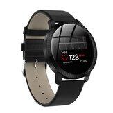 Bakeey CF18 Cuerpo de metal Corazón Tasa de presión arterial Monitor Reloj inteligente de seguimiento fisiológico femenino