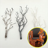Mini Tree Branch Model Militær Scenario Tog Sandbord DIY Landskab Materialer Dekorationer