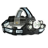 XANES 2409-B 1700LM Telescopic Zoom 18650 USB Rechargeable 5 Modes Headlamp with SOS Help Whistle