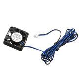 TRONXY® DC 12V 0.12A Niebieski 4010 Bezszczotkowy wentylator chłodzący z kablem 1,2 m do drukarki 3D Część