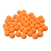 50Pcs Orange Round Replace Ball For Nerf Rival Apollo Zeus Toys