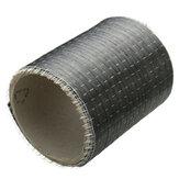 12K 200gsm 180 × 10cm tkanina z włókna węglowego o splocie płóciennym