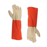 Fireproof Work Gloves Durable Cow Leather Anti-Heat Flame Retardant Safety Gloves
