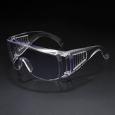 Bakeey Outdoor Transparent Goggles Anti-fog Anti-droplet Spread Dust-proof Impact Windproof  Protecting Glasses