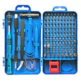 Raitool 110 in 1 Insulation Screwdriver Set With Tweezer Magnetic Bits Kits DIY Watch Phone Electronics Repairing Tools