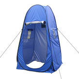 Polyester Privacy Shower Tent Camping Tent Waterproof UV-proof Sun Shelter Beach Tent Canopy with Two Window