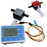 High-Precision  Liquid Gear Sensor LCD Digital Fow Meter Quantitative Control