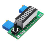 3 stks Blauw LM3914 Batterij Capaciteit Indicator Module LED Power Level Tester Display Board