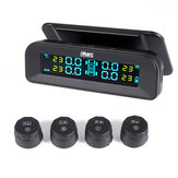 iMars T260 Solar Tire Pressure Monitor System Real-time Tester LCD Screen 4 External Sensors Auto Power On Off