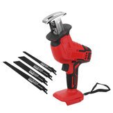 18V Coedless Handheld Electric Reciprocating Saw Electric Saber Saw With 4xSaw Blades Adapted To Makita Battery