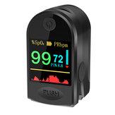 BOXYM P2000 Finger-Clamp HD OLED Pulse Oksimeter Jari Oksigen Darah Saturometro Heart De Oximeter Portable Pulse Oximetro Monitor