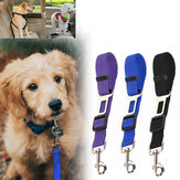 45-72cm Adjustable Dog Car Seat Belt Pet Leash Cat Dog Car Safety Tether Travel Hunting