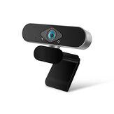 Xiaovv 1080P Câmera IP com webcam USB 150 ° Ultra Wide Angle Otimização de imagem Processamento de beleza Auto Foucus para transmissão ao vivo Conferência de ensino online Conferência Web Camera