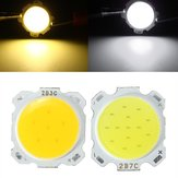 7W DIY LED COB Chip High Power Bead Light Lamp Bulb-wit / Warmwit DC20-24V