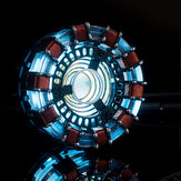 MK1 Acrylic Tony DIY Arc Reactor Lámpara Arcylic Kit Illuminant LED Flash Juego de luces