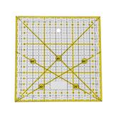 Righello per abbigliamento acrilico Righello angolare 30 ° / 45 ° / 60 ° / 90 ° 15 * 15 cm Piedi patchwork per cucire Righelli per taglio di stoffa su misura