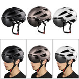GUB CJD Bike Helmet 65cm Bicycle Goggles 9 Modes Taillight Breathable Helmet Outdoor Safety Cycling