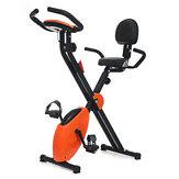 KALOAD Opvouwbare hometrainer Fitness Cardiotraining Sport Fietsen Spinning Bike Trainingsapparatuur