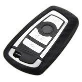 SiliconeChaveDoCarroCasoTampa Do Protetor Controle Remoto Fob para BMW 1 3 4 5 6 7 X1 X3 Series
