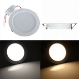 12W Round LED Recessed Ceiling Panel Down Light With Driver