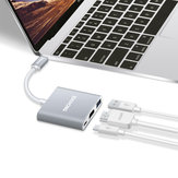 OneCoice Multifunktionale Type-C USB 3.0 4K HDMI Type-C USB Hub PD2.0 Lade Konverter Adapter