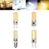 E14 G4 G9 4W COB2508 Dimmable Branco quente Branco puro LED Ampola de milho AC220-240V