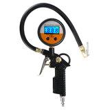 LCD Digital Druckschlauchlehre Auto Luftreifen Reifenfüller Kompressor