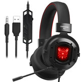 ONIKUMA K3 Gaming Kopfhörer RGB Light Noise Cancelling Wired Headset für PS4 PC Computer Mac Laptop