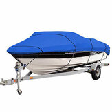 210D 11-13ft / 14-16ft / 17-19ft / 20-22ft Heavy Duty Boat Cover voor V-Hull Speedboot Ski Sport Waterdicht Stofdicht