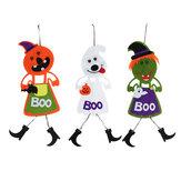 Halloween Hängende Zeichen Lebendige Farbe Tür Kleiderbügel für Haustür Shopping Malls Bar Dekorationen
