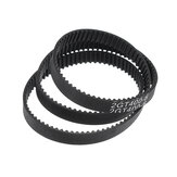 GT2 6mm Gesloten Loop Timing Belt 2GT-6 280/400/610 / 852mm Rubber Synchrone Riem