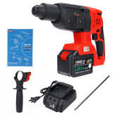 110-240V 3 In 1 Cordless Electric Brushless Hammer Drills Breaker Power Drills Electric Hammer Tool